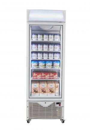 Upright-Freezer-Showcase-Front-facing-door-close